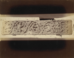 Frieze with ornamental carving from the upper monastery at Nutta, Peshawar District